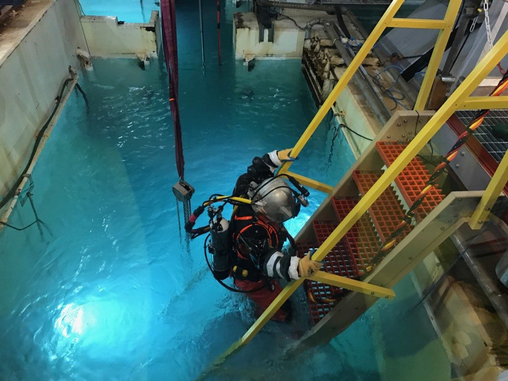 UCC Pioneers the First Radiological Dives in the UK