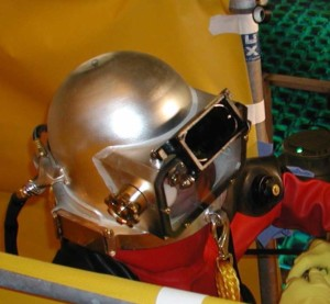 Nuclear facility commercial diver